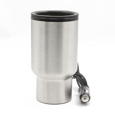 12V Thermobecher aus Edelstahl (450ml) für das Auto für 6,63€