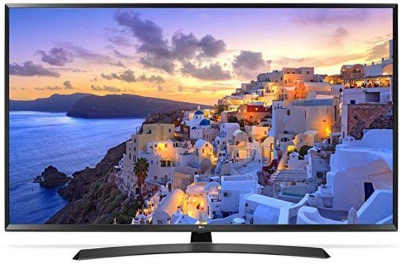 LG 49UJ635V   49 4K LED Fernseher mit Smart TV Funktion für 379,99€ (statt 436€)