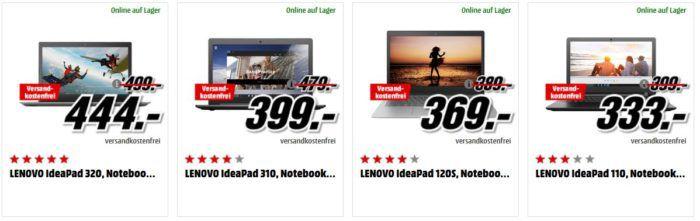 Media Markt LENOVO Tiefpreisspätschicht   günstige Notebooks und Convertibles