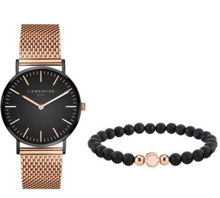 Liebeskind Damenuhr und Armband LS 0010 MQB für 89,99€