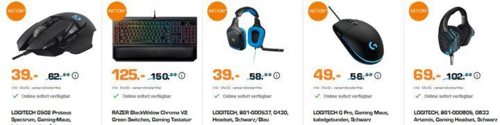 Saturn Weekend Deals: Gaming Zubehör, Einbau Großgeräte und Topseller zu Top Preisen