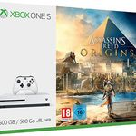 Xbox One S 500GB inkl. Assassins's Creed Origins für 199€ (statt 245€)