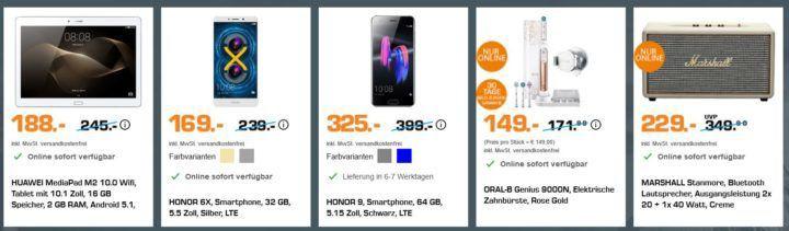 Saturn Olympia Sale: z.B. ORAL B GENIUS 9000N für 149€ (statt 170€)