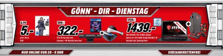 LOGITECH K400 plus Tastatur für 17€ uvm. im Media Markt Dienstag Sale