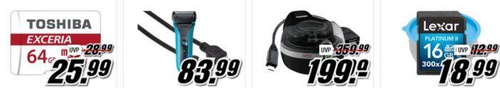 Media Markt Tiefpreisspätschau: u.a. PANASONIC ES LV95 S803 Rasierer für 129€ (statt 155€)