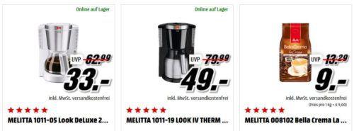 Media Markt Mega Marken Sparen: günstige Artikel von AEG, BRITA, Melitta und SINGER
