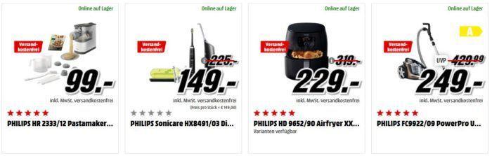 Media Markt Philips Tiefpreisspätschicht   günstige Elektrokleingeräte, TV & Audio, Hue Produkte und mehr