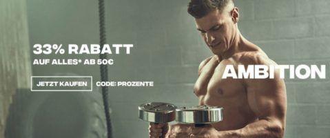 Myprotein mit 30% Rabatt auf ALLES + 40% auf Muskelaufbau  und Diätprodukte
