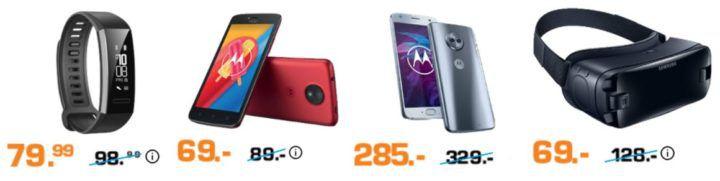 Saturn: Nacht der Smartphones   z.B. SAMSUNG Gear VR Brille + Controller für 69€ (statt 82€)