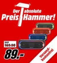 Sony SRS XB30 Bluetooth Lautsprecher für 79€