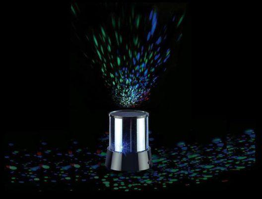 LED Sternenhimmel Projektor mit 3 Leuchtprogrammen für 8,99€