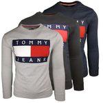 Tommy Hilfiger Herren Sweater 90er Big Flag Logo (M-XL) für 33,75€