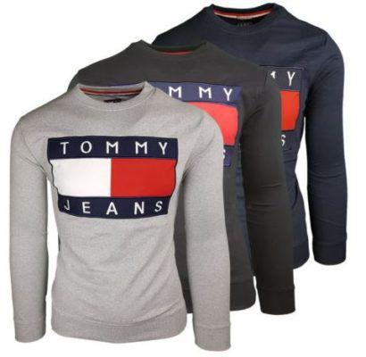 Tommy Hilfiger Herren Sweater 90er Big Flag Logo (M XL) für 33,75€