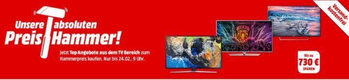 Media Markt Preishammer TVs: z.B. JAY TECH GENESIS 75 Zoll UHD für 1.499€