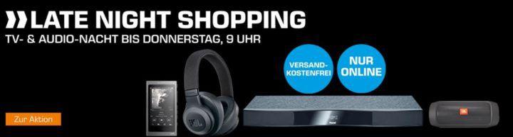 Saturn TV & Audio Nacht: z.B. MAGNAT Sounddeck 150 für 129€ (statt 175€)