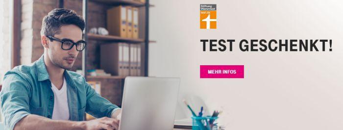 Nur für Telekom Kunden: 1x Test der Stiftung Warentest gratis