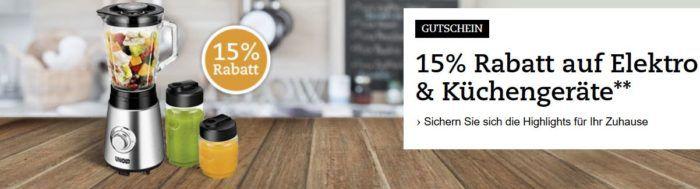 Thalia: 15% Rabatt auf Elektro  u. Küchengeräte z.B. Philips LivingColors Bloom für 43,34€