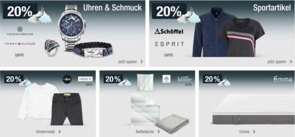 20% Rabatt auf Uhren und Schmuck der Marken Tommy Hilfiger u.v.m.   Galeria Kaufhof Mondschein Angebote
