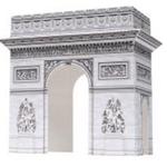 76 Vorlagen für Papiermodelle verschiedener Gebäude zum Selberbasteln kostenlos