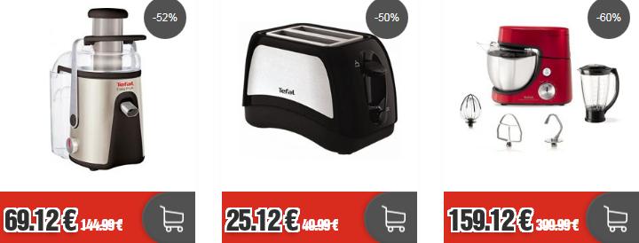 Top12 Sale: günstige Haushaltsartikel von Tefal   z.B. Tefal Stabmixer Slimforce für 35,12€ (statt 50€)