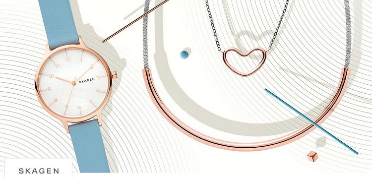 Skagen Sale mit Schmuck, Uhren, Taschen, Etuis uvm.   z.B. Skagen Jorn SKW6334 Herrenuhr ab 69,99€ (statt 109€)