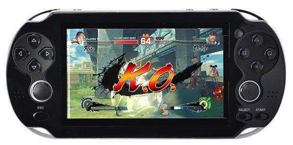 Portable Spielekonsole mit 230 Spielen & 8GB Speicher ab 27,38€
