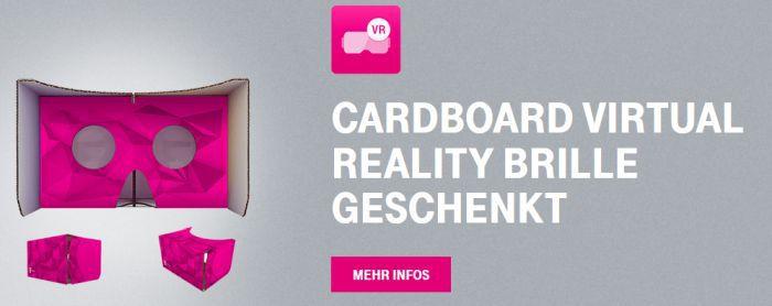 Nur für Telekom Kunden: VR Cardboard gratis