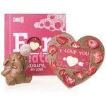 Schokolade zum Valentinstag: 10% Rabatt und andere Sparmöglichkeiten bei Chocolissimo auf das gesamte Sortiment