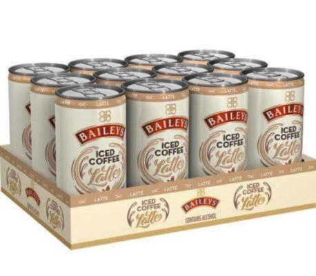 12er Pack Baileys Iced Coffee Latte inkl. 3€ Pfand für 17,99€