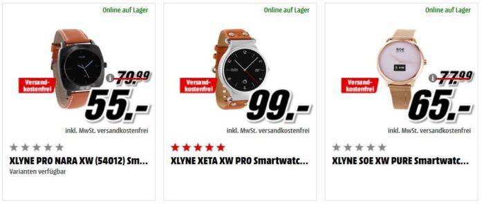 Preishammer: günstige Smartwatches von XLYNE ab 20€