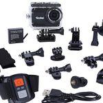 ROLLEI 6s Plus 4K WLan Actioncam+ ROLLEI 21639 Outdoor Action Cam Zubehörset für 99€ (statt 116€)