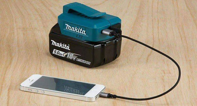 Für Heimwerker: Makita Akku USB Adapter für 22,49€