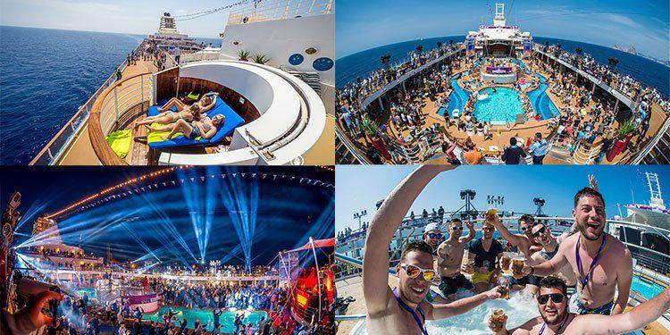 5 Tage All In World Club Cruise auf MeinSchiff 2 mit Robin Schulz & Gestört aber GeiL + Flug & Transfers ab 999€
