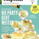 """4 Ausgaben der """"Capital"""" für 25,50€ inkl. 24€ Verrechnungsscheck"""