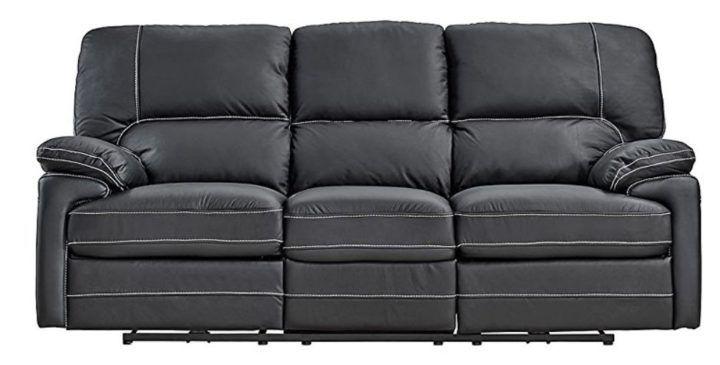 Dynamic24 Echtleder 3 Sitzer Sofa für 299€ (statt 399€)