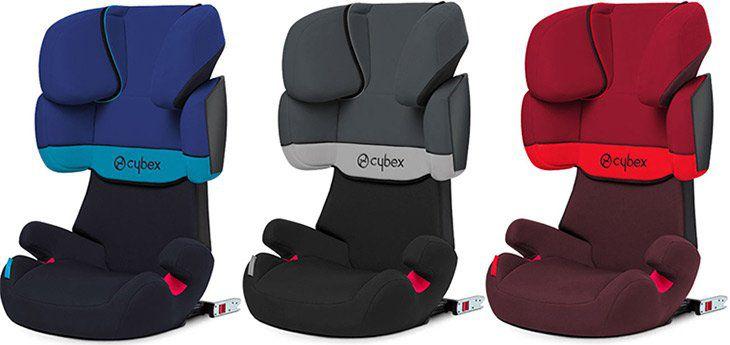 Cybex Silver Solution X fix Kinderautositz in 3 Farben für je 90,99€ (statt 100€)