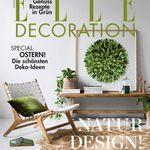 6 Ausgaben ELLE Decoration für 39€ + 35€ Verrechnungsscheck