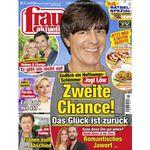 frau aktuell – 13 Ausgaben für 27,30€ + 24€ Verrechnungsscheck