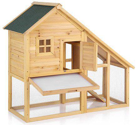 iKayaa Kleintierstall (für Kaninchen, Hasen etc) für 63,76€ (statt 73€)