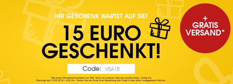 Designermode.com: 15€ Rabatt auf alles (ab 50€ MBW)