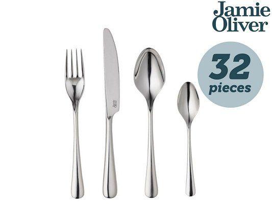 Jamie Oliver 32 teiliges Besteckset Everyday für 45,90€ (statt 65 €)