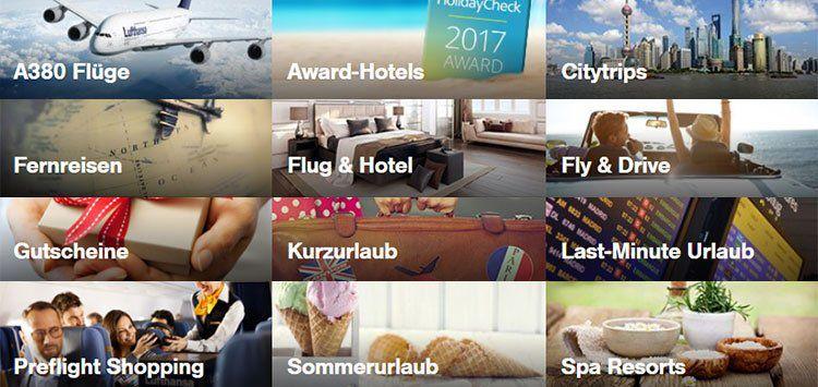 Lufthansa Holidays Gutscheine ab 25€
