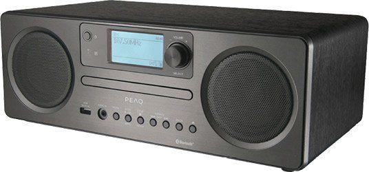 PEAQ PDR 350 Internetradio (DAB+, FM, Bluetooth, WLAN) für 153,99€ (statt 194€)