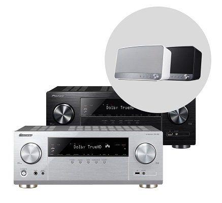 Pioneer Multiroom Bundle Receiver VSX 832 mit MRX 3 Box ab 341,91€ (statt 482€)