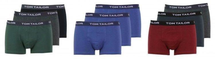 3er Set Tom Tailor Boxershorts   verschiedene Sets für je 19,90€ (statt 27€)