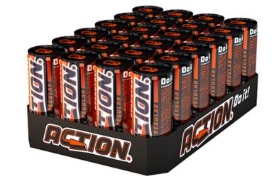 48 x Action Energy (pfandfrei, 250ml) für 19,99€ (statt 31€)   0,42€ pro Dose
