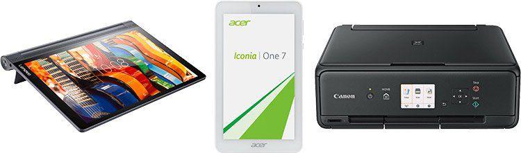 Saturn – Monitore, Drucker & Tablets im Angebot: z.B. PHILIPS 243V5QHSBA Monitor für 89€ (statt 124€)