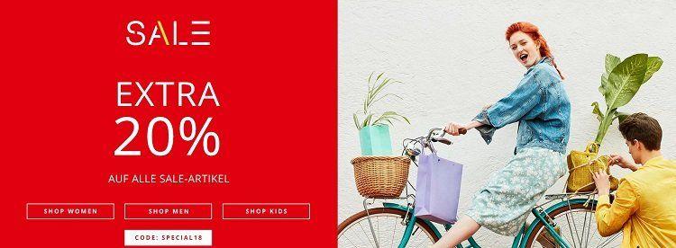 Esprit Sale + weitere 20% dank Gutschein + VSK nur 0,99€