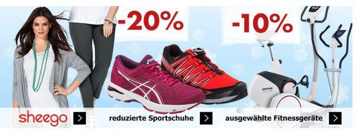 Karstadt Weekend Kracher: z.B. 20% Rabatt auf Parfüm Artikel, reduzierte Sportschuhe o. Sheego Artikel