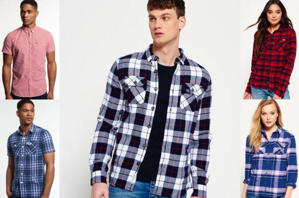 Superdry Herren Hemden   neue Modelle für je 29,95€